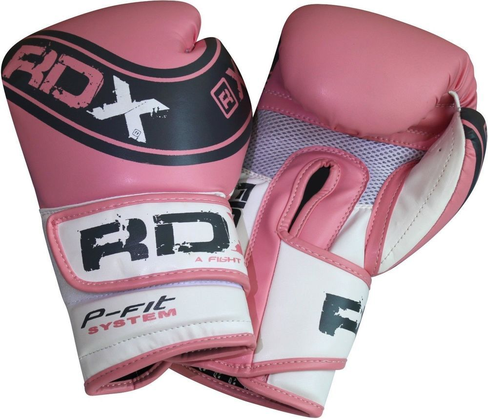 RDX Ladies Boxing Gloves Punch Bag Womens Gym Kick Pads MMA Mitts Muay Thai CA