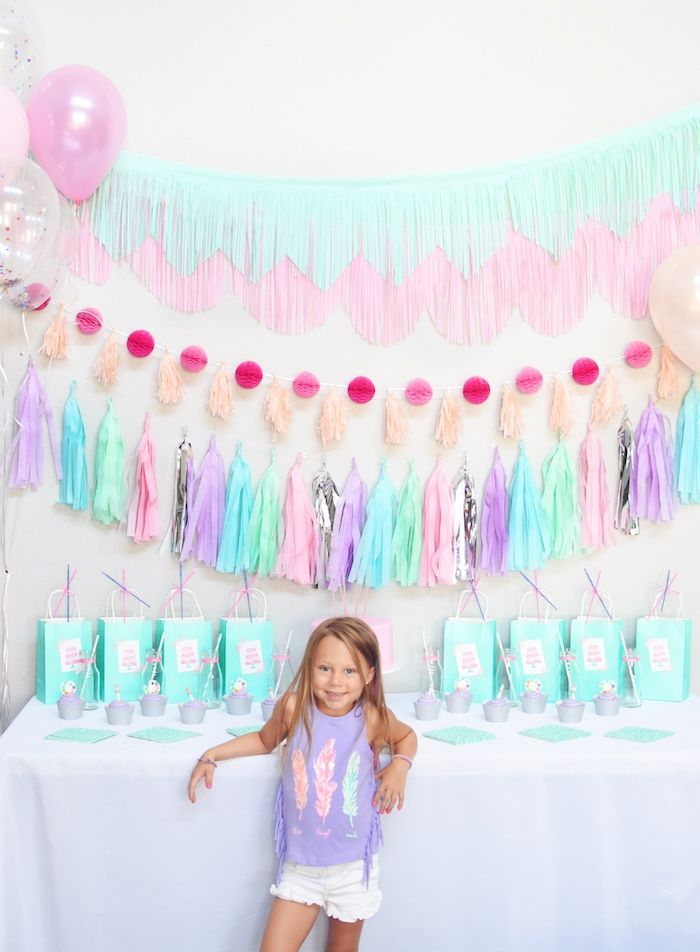 Pastel Painting Art Themed Birthday Party Kara S Party Ideas Birthday Party Themes Pastel Birthday Birthday Parties