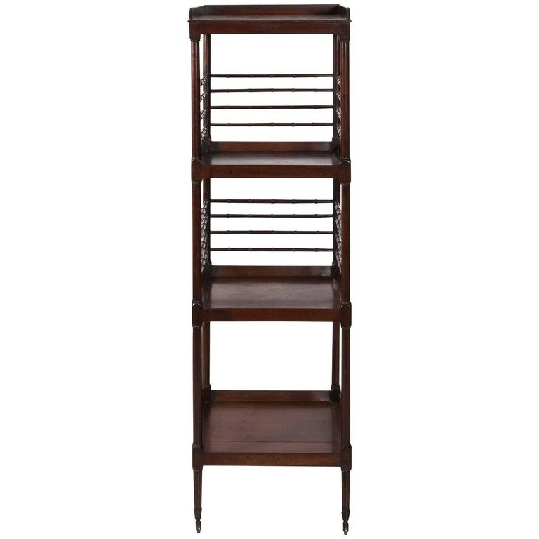 Best Mahogany Étagère From A Unique Collection Of Antique And Modern Shelves At Https Www 1Stdibs 400 x 300