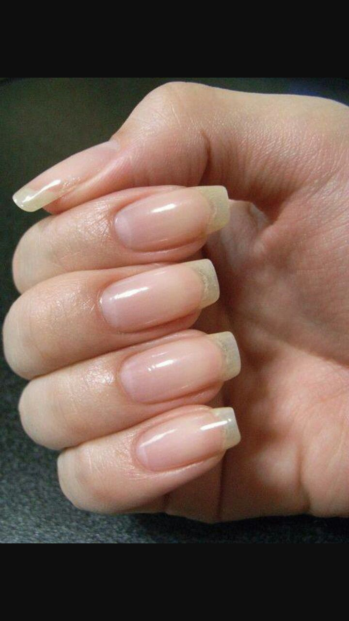 Pin by Rawan Daw on real nails | Pinterest | Natural nails, Natural ...