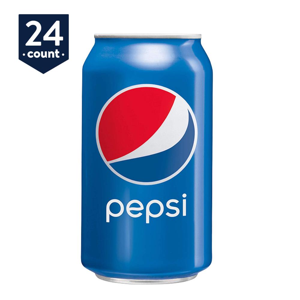 Pepsi Soda 12 Oz Cans 24 Count Pepsi Pepsi Cola Pepsi Soda Can