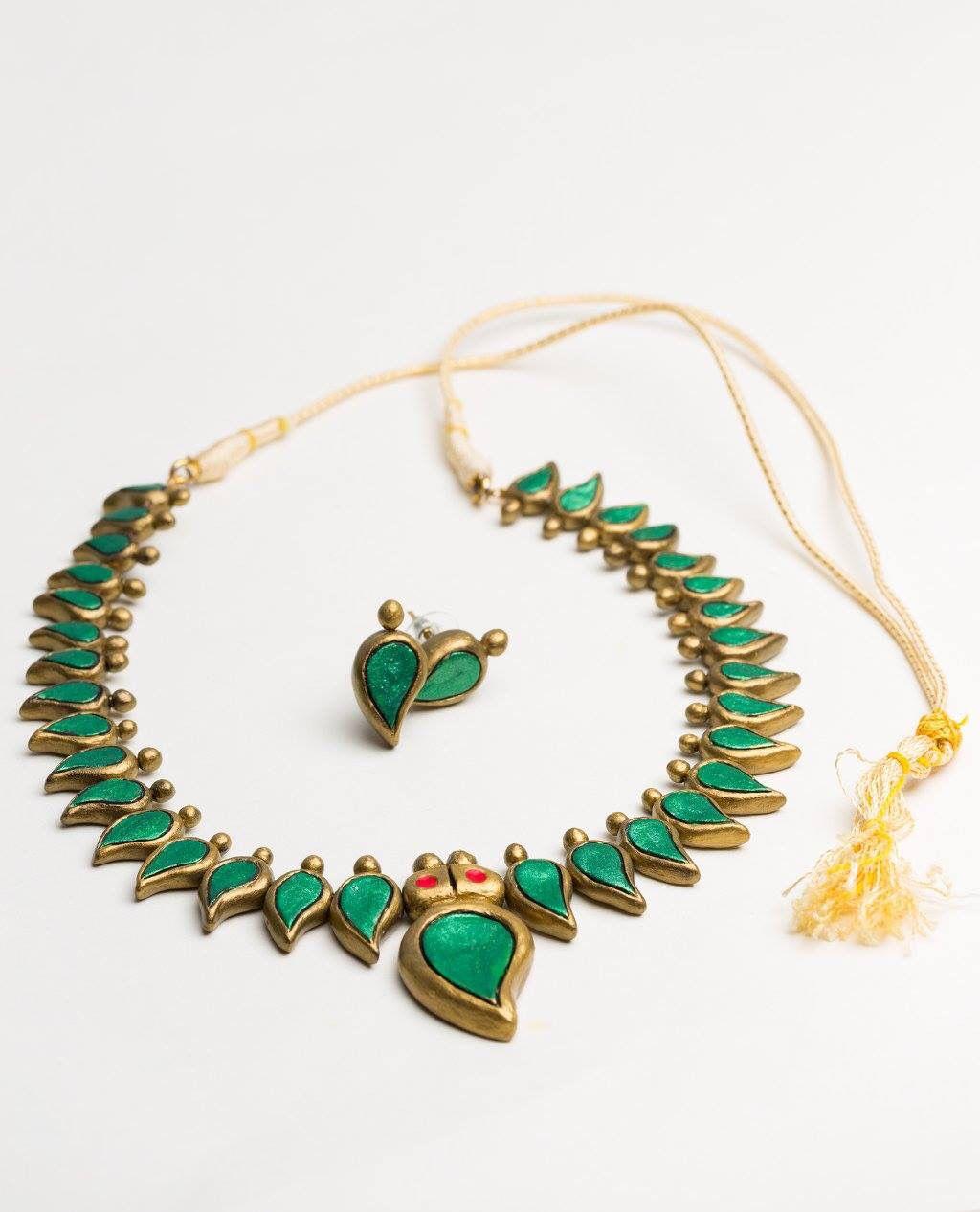 Pin by Vibhushitha Chandrasekaran on Terra cotta jewelry Pinterest
