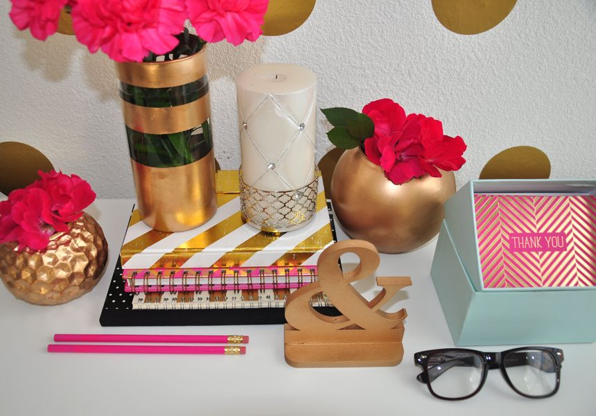 Kate Spade Decorating Tips: #FOSofficetour Preview Glam Home Office FOXY OXIE