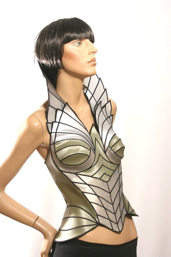 Fairy Fantasy Cosplay Corset Larp Corset Sci Fi Costume Lady