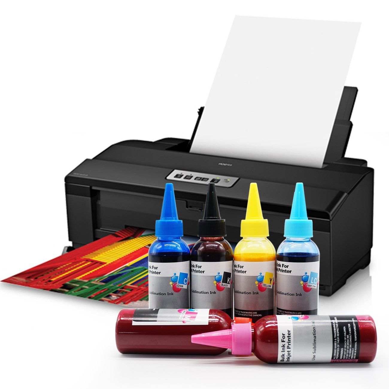 Printers Jack 600ml Sublimation Ink for Inkjet Printer Press