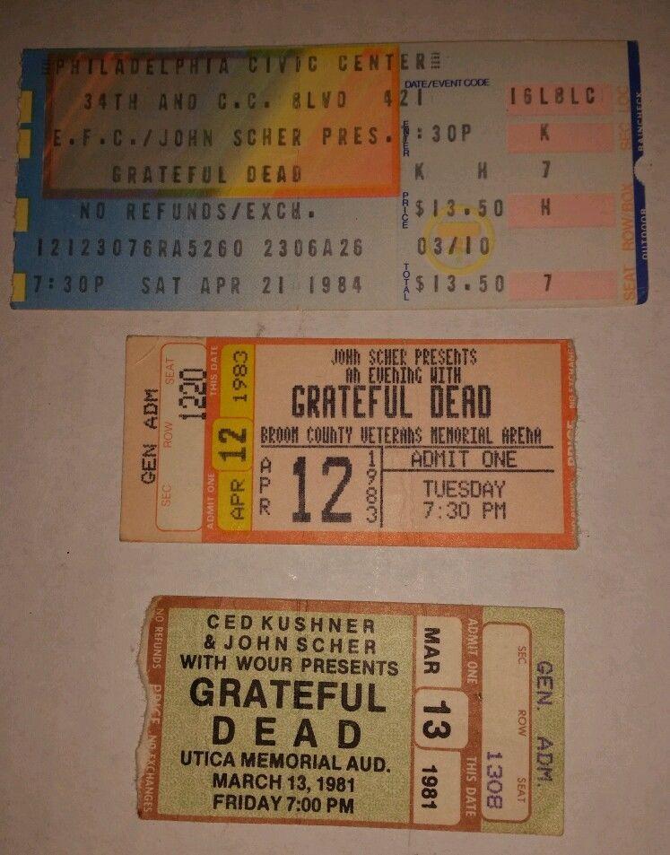 Pictures vintage vintage concert ticket stubs