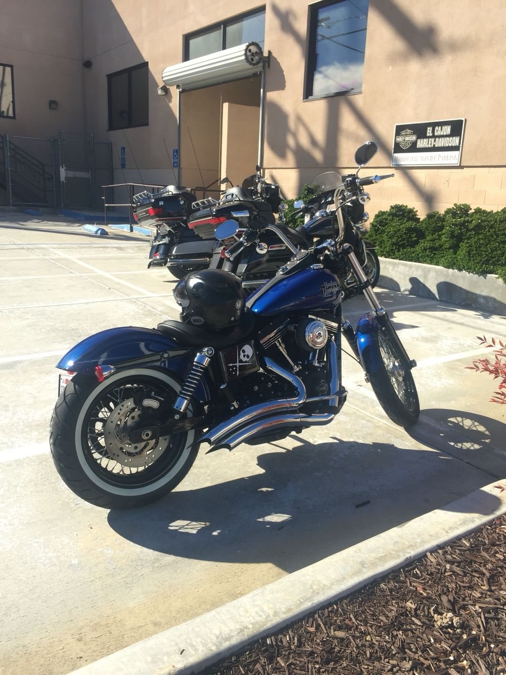 Harley Davidson Dyna Street Bob With White Wall Tire Superior