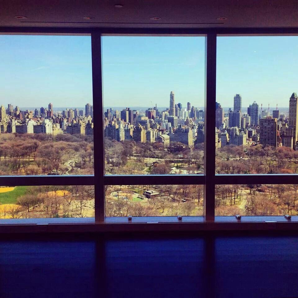 This is an awe inspiring view. Condo in NY. L