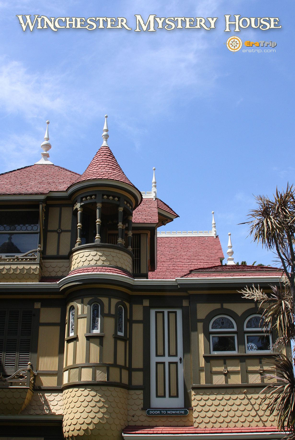 winchester mansion   Post cards: Winchester Mystery House