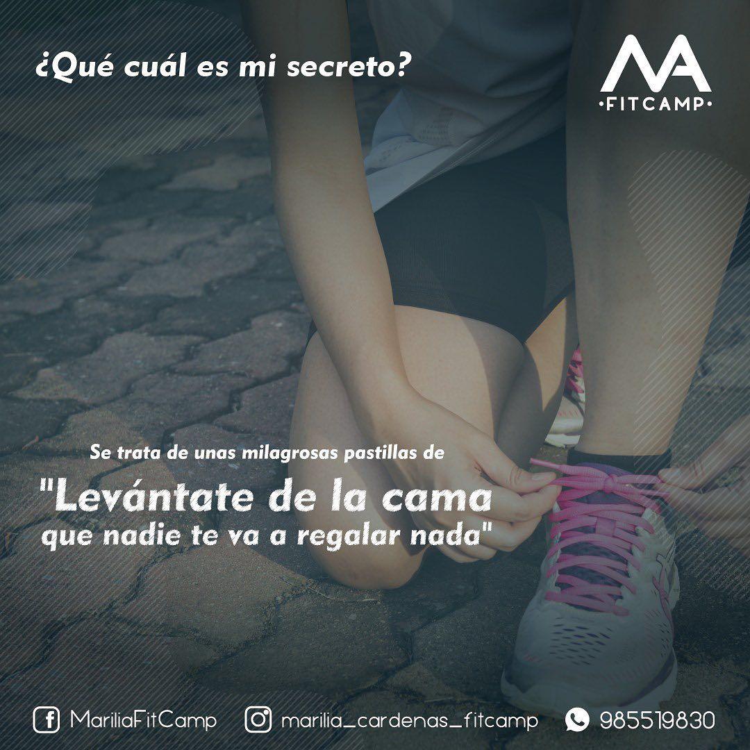 By Marilia Cárdenas  #frases #frasesmotivadoras #fitness #fitnessmotivation