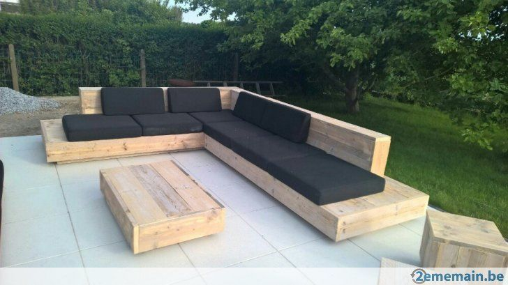 Afbeeldingsresultaat voor houten loungeset tuin lounge ydee pinterest lounges terras en tuin - Eigentijdse houten lounge ...