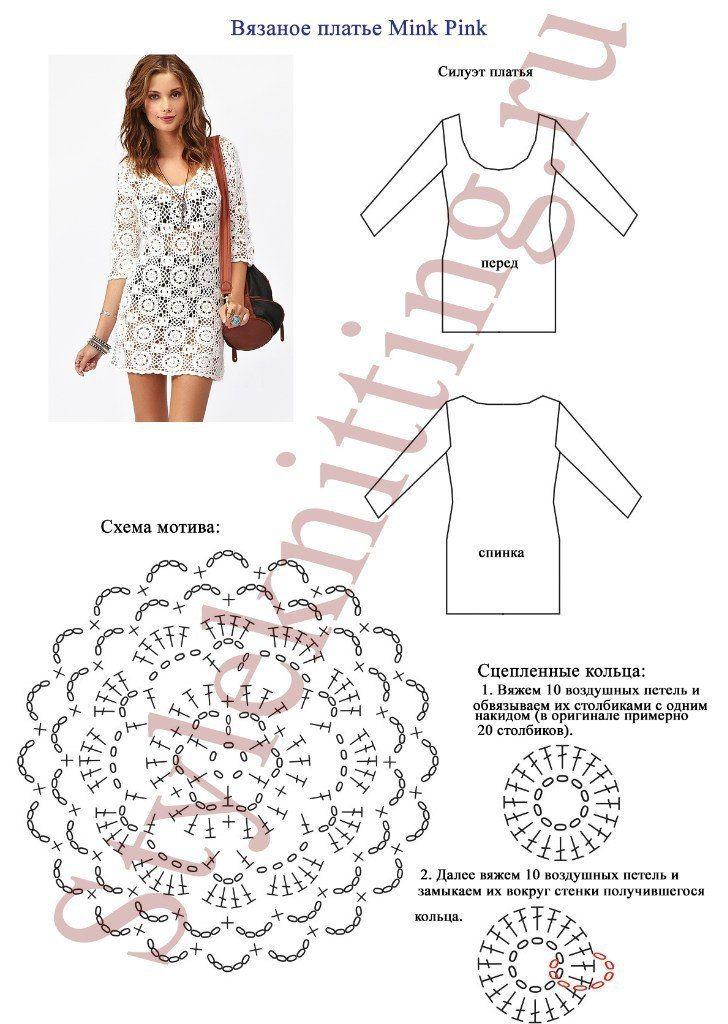 Vertido facil tejido a crochet con moldes - Ideas de Manualidades ...