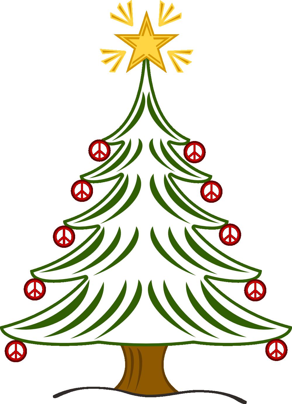 christmas peace sign clip art tree xmas christmas peace