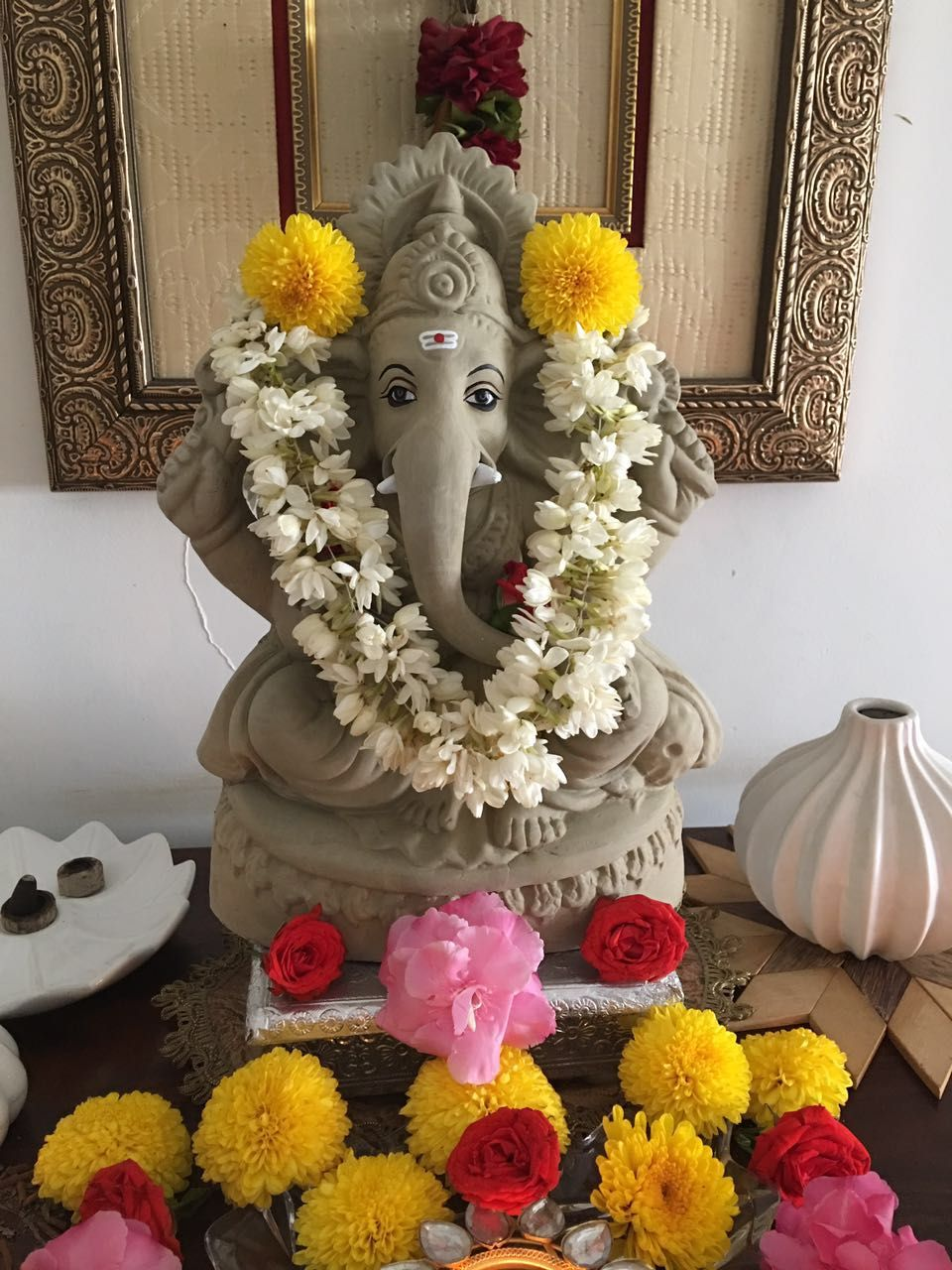 Ganpati Decoration Ideas | Ganpati Decoration Themes | Ganpati ... for Flower Decoration Ideas For Ganpati  587fsj