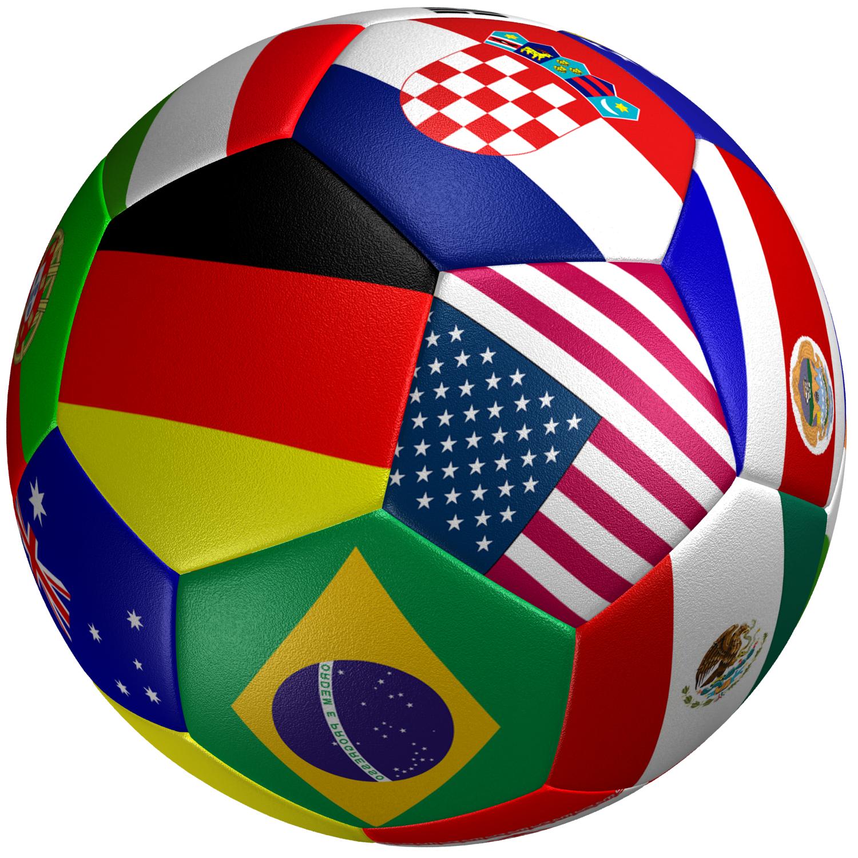 Soccer Ball Flag 3D Model Game ready .max .obj .3ds .fbx ...  f6f82d0422b8e