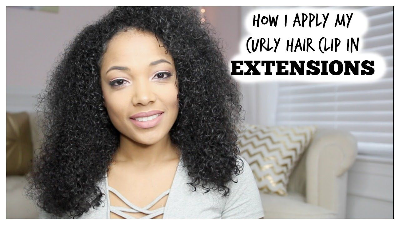How i put in my curly hair clip in extensions curly clip