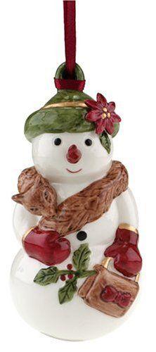 villeroy boch festive collection mrs snow 4 3 4 inch ornament villeroy boch xmas. Black Bedroom Furniture Sets. Home Design Ideas