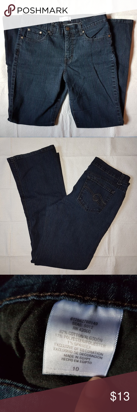 Jaclyn Smith Women S Jeans Size 10 Clothes Design Fashion