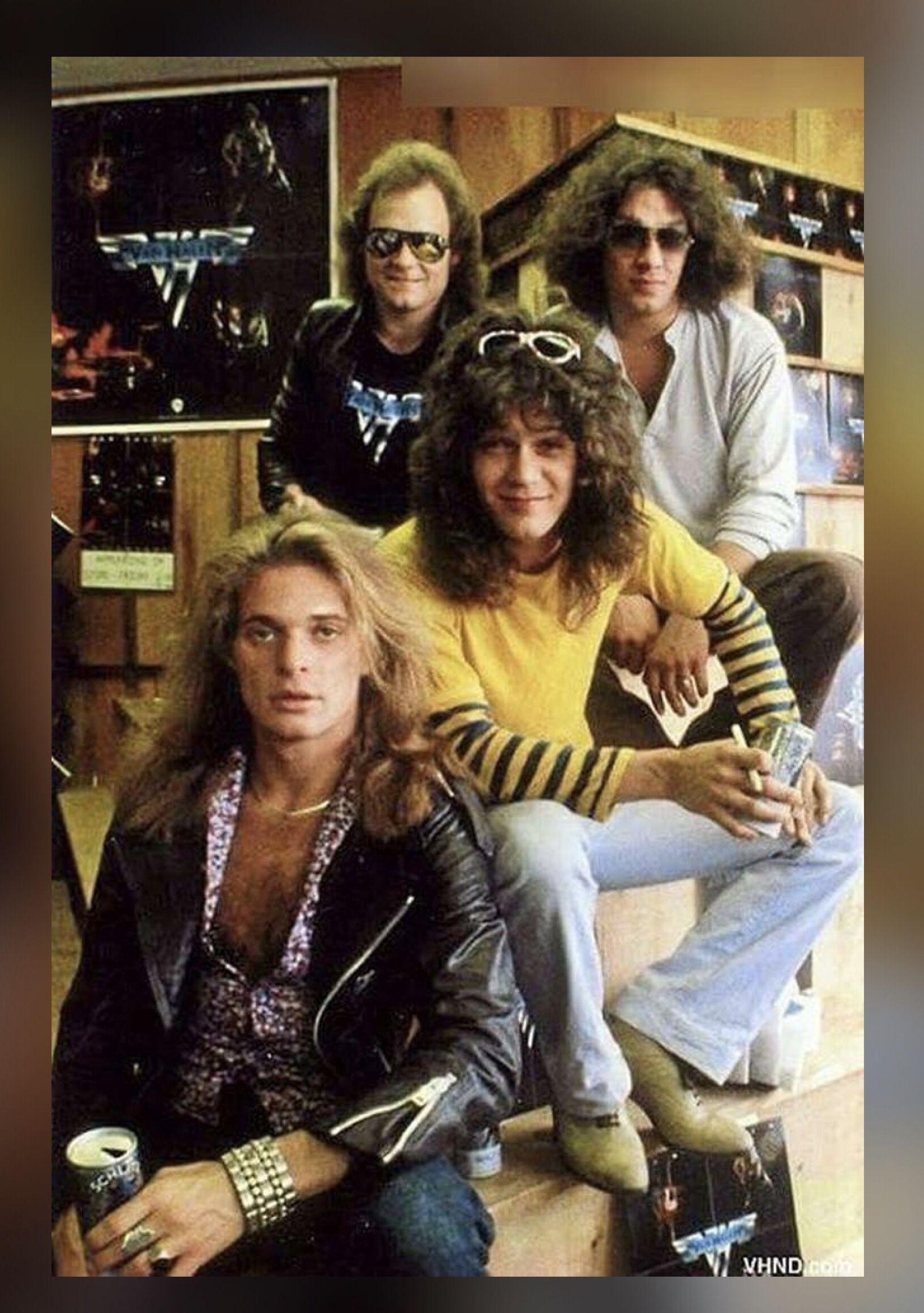 Pin By Kar3n 59 On Memories Van Halen Rock Music Halen