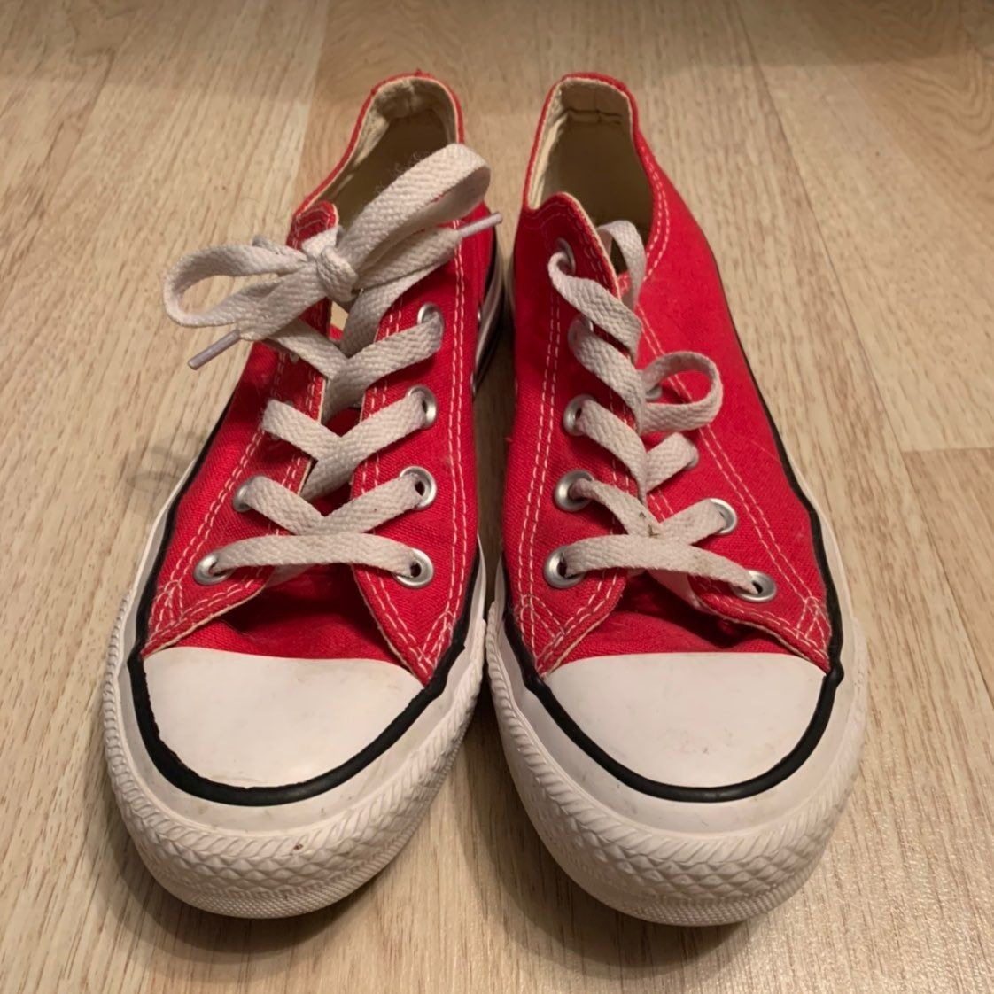 red converse womens size 6