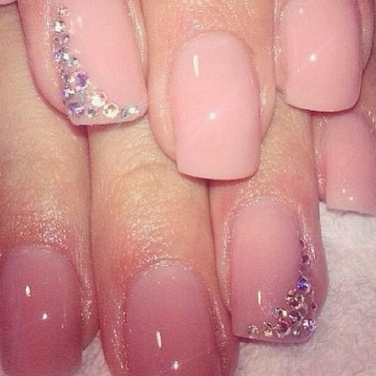 acrylic nails | Tumblr **would rather see this on natural nails**