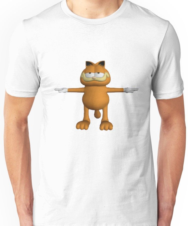 Garfield T Pose Essential T Shirt By Jakeebler T Shirt Shirts Mens Tshirts