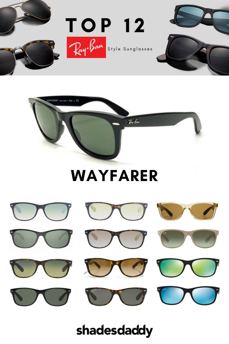 41d941720 Ray-Ban Wayfarer Classic RB2132 Sunglasses available at shadesdaddy.com As  an iconic style