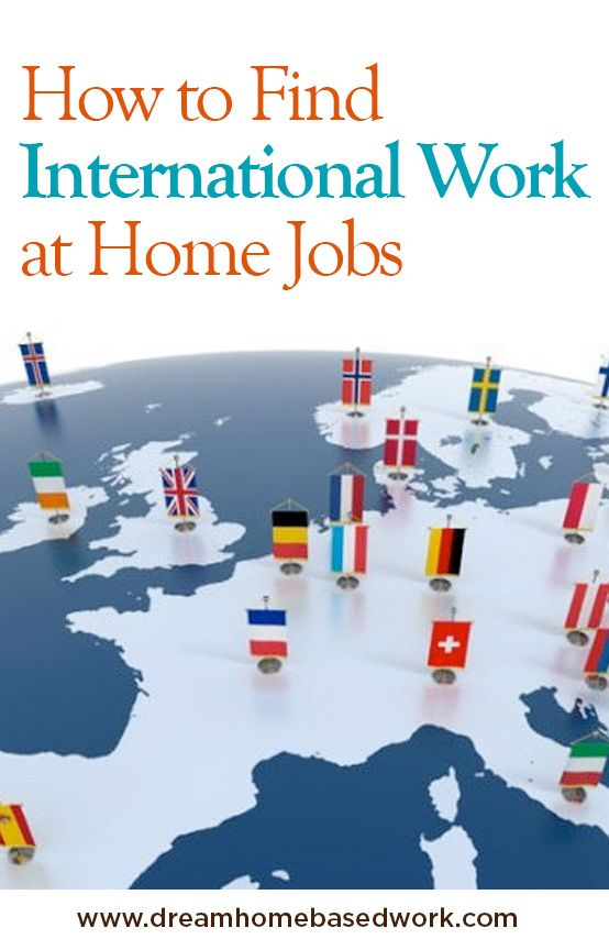 How To Find International Work from Home Jobs To Make Money Online