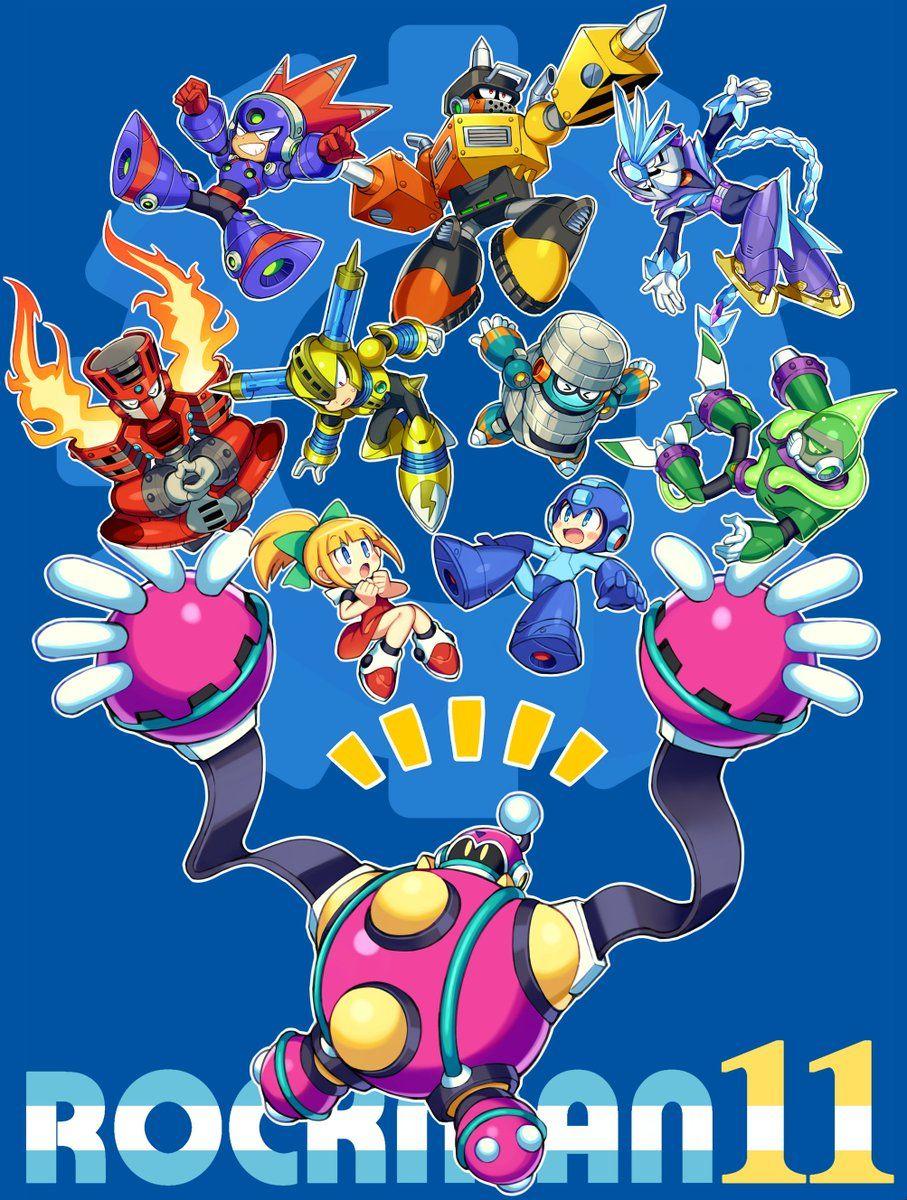 ぱにぱに On Twitter Mega Man Mega Man Art Megaman 11