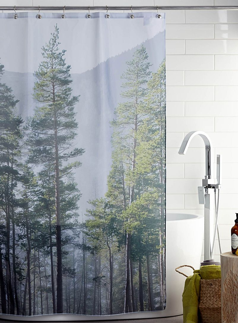 Twilight Shower Curtain Simons Maison Shop Fabric Shower Curtains Online In Canada Simons With Images Curtains Shower Curtain Fabric Shower Curtains