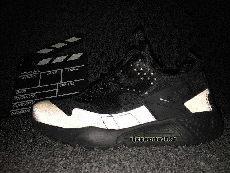 Chaussures Air Nike 4 Officiel Réfléchissante Huarache Décoloration vZYqnw75