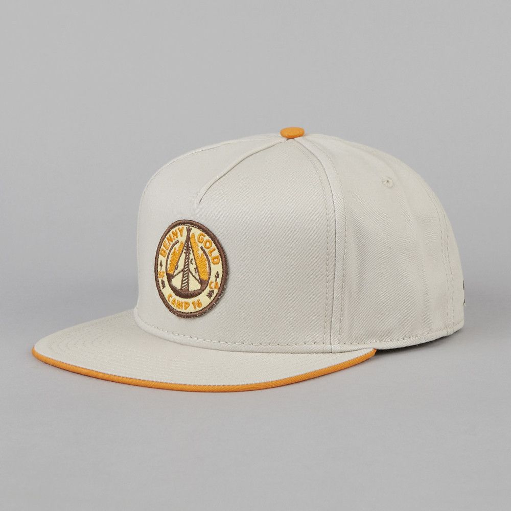 e1771dd2b Benny Gold Camp 16 Snapback Cap Sand #streetwear #snapbacks ...