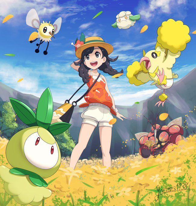 Twitter Pokémon Ultra Sun And Ultra Moon Female Trainer