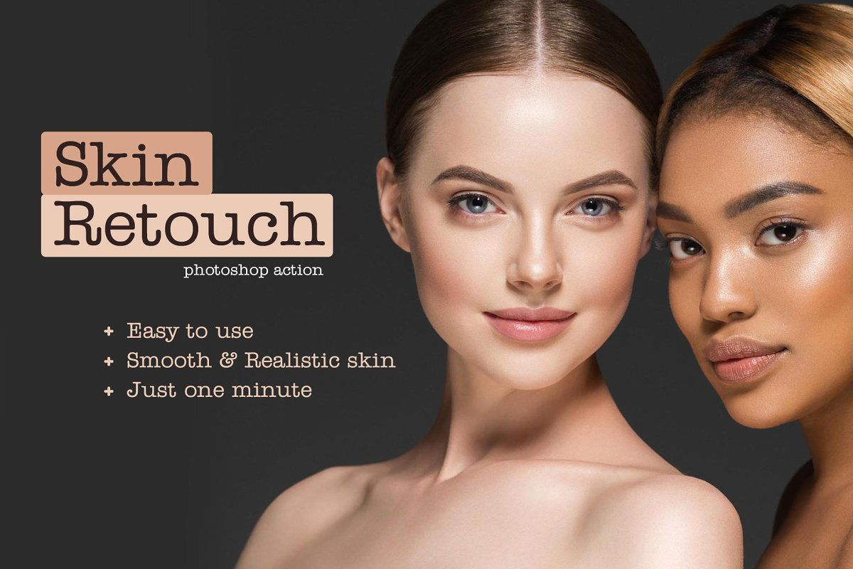 Beauty skin retouch ps action in 2020 skin retouching