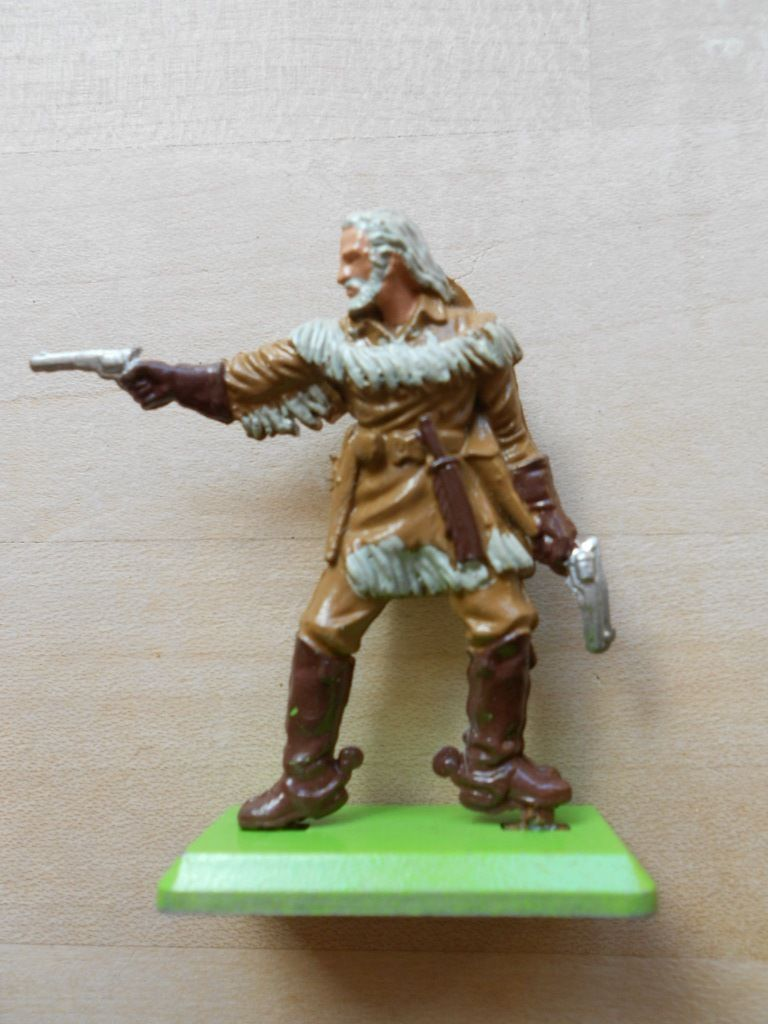 Toy Model Gallery : Us th cavalry officer custer wild west britains