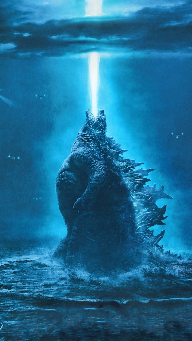 Godzilla King Of The Monsters 4k Ultra Hd Mobile Wallpaper In 2020 Godzilla Wallpaper Movie Monsters Godzilla Comics