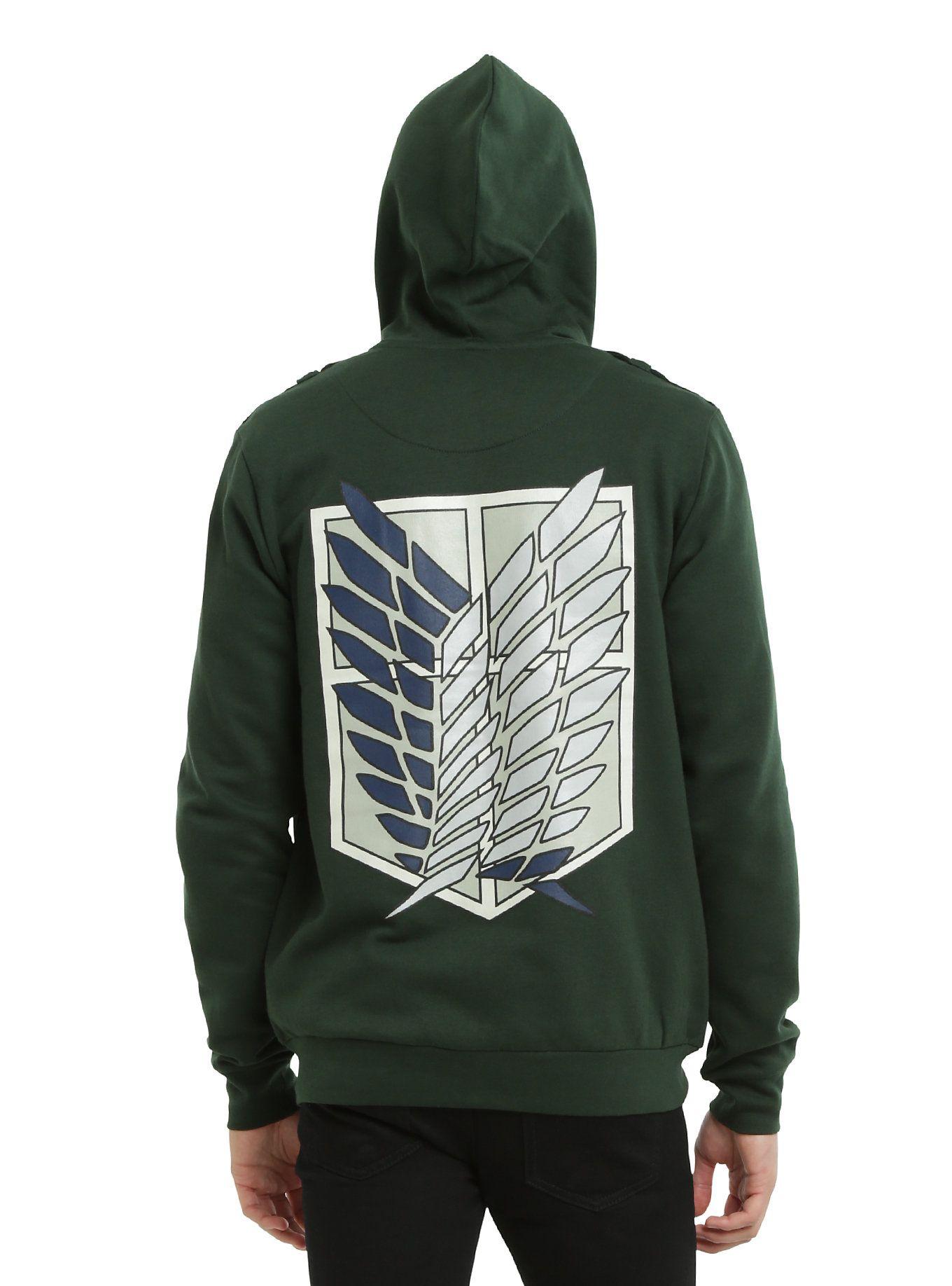 Attack On Titan Scouting Legion Jacket Hoodie | Pinterest
