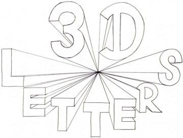 how to make graffiti letters with ease one point perspective create a graffiti alphabet with one point perspective is one of the realistic and the best