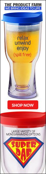 Aa coupon code BREW4ME for 20% OFF on all Brew2Go beer tumbler products. Keeps beer cold for twice as long.