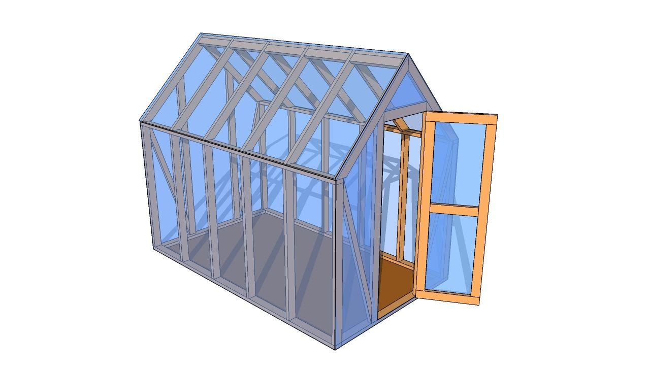 Small Greenhouse Plans Greenhouse plans, Small