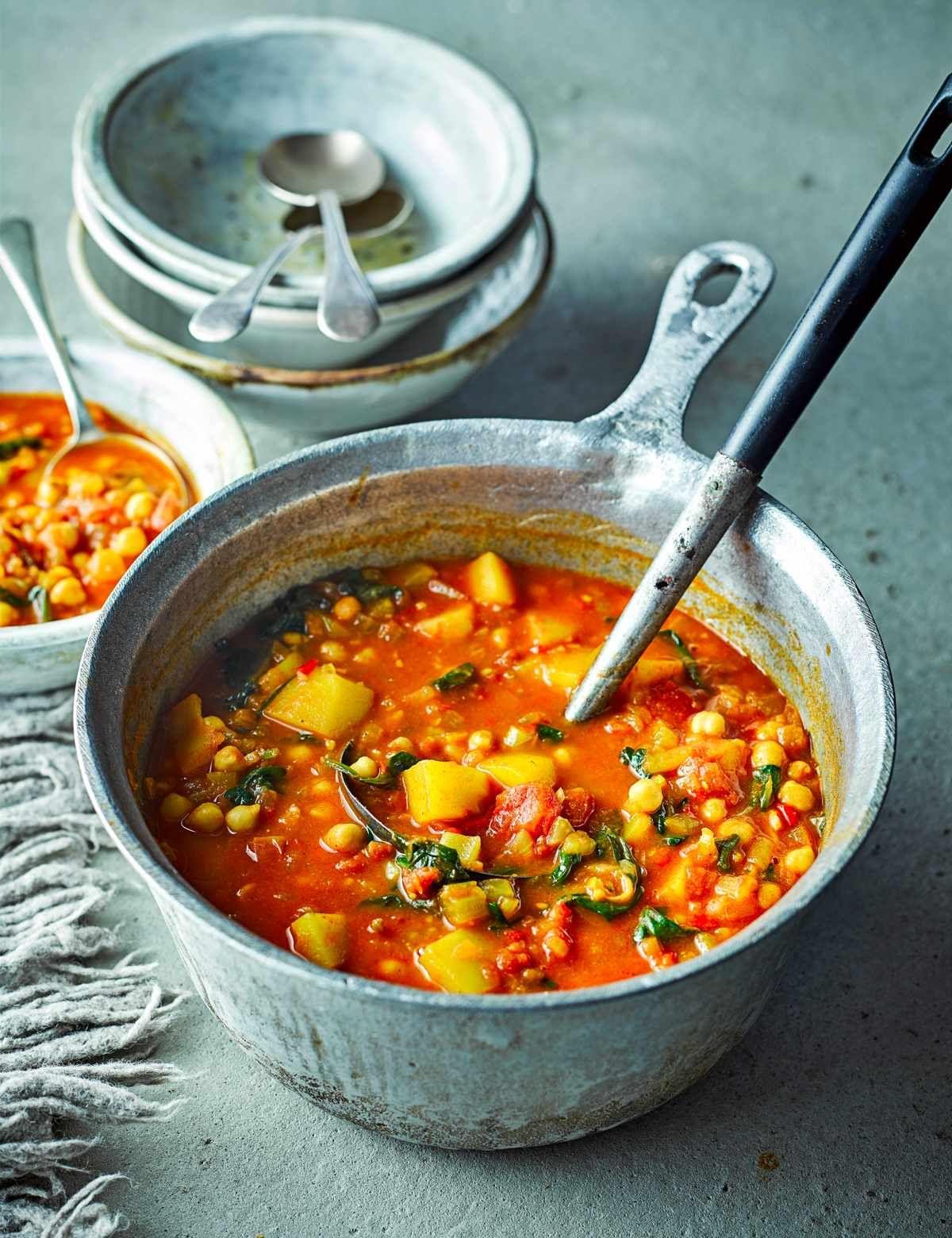 Moroccan Veggie Soup
