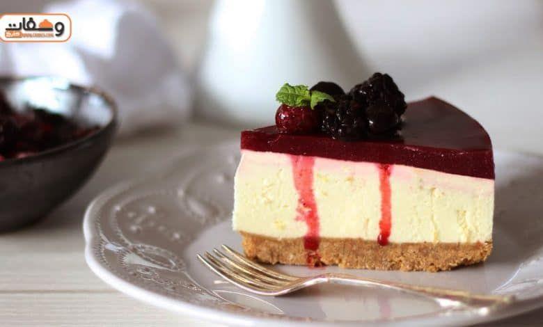 طريقة عمل 4 أنواع من تشيز كيك بارد Berry Cheesecake Recipes Cheesecake Recipes Basic Cheesecake Recipe