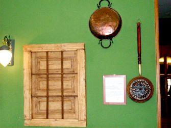 Decoración rústica de La Cabilda restaurante (Hoyo de Manzanares - Sierra de Madrid)