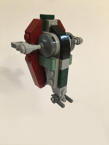 Lego Slave 1 Micro Scale Lego Lego Raumschiff
