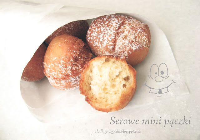 Moja słodka przygoda w kuchni: Serowe mini pączki