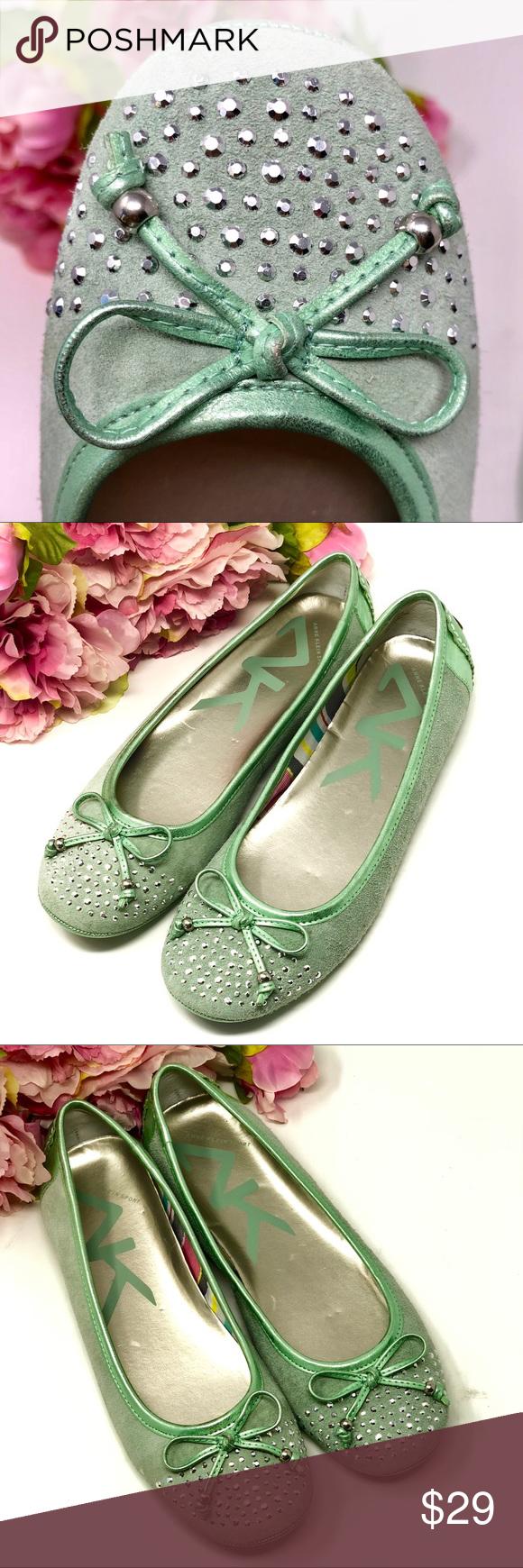 9ecad79942f ANNE KLEIN SPORT shoes ballet flats mint green 8 M Sweet and adorable ANNE  KLEIN SPORT