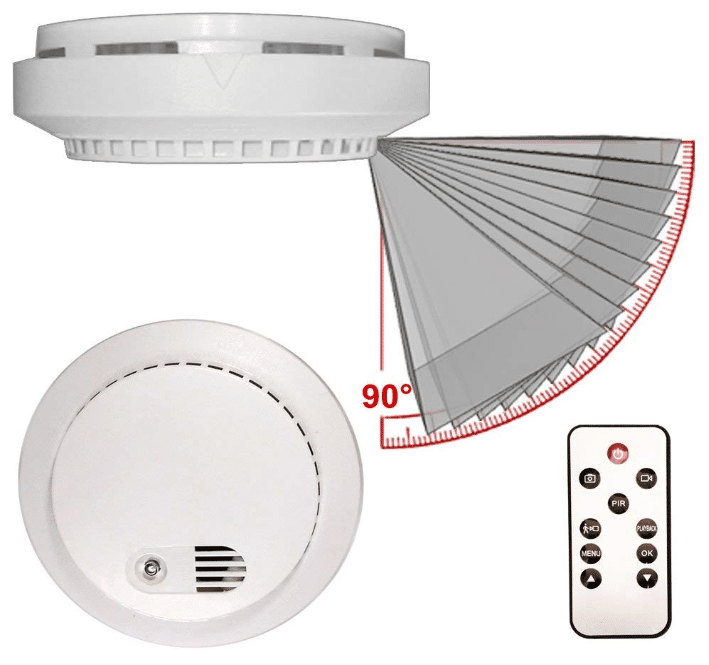 Top 10 Best Smoke Detector Cameras Reviews In 2020 Home Security