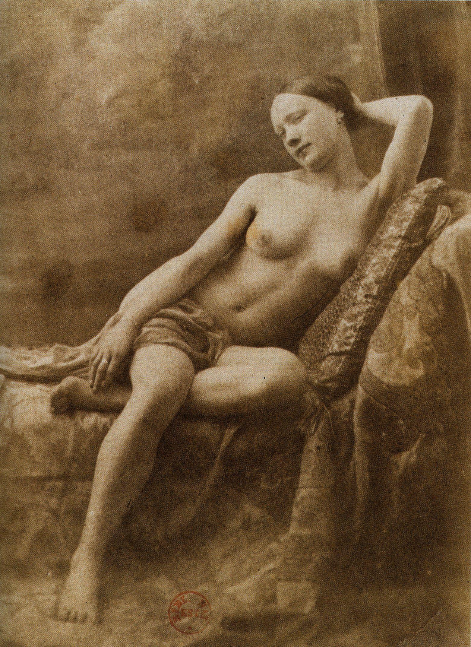 era nudes Victorian reclining