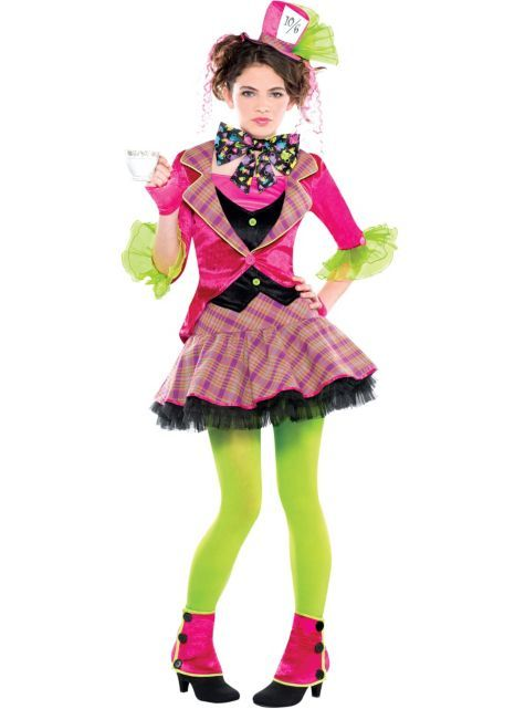 teen girls teatime mad hatter costume party city which one the first or second one