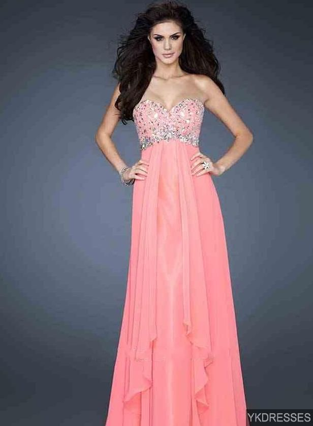 pink prom dress pink prom dresses | prom dresses | Pinterest ...